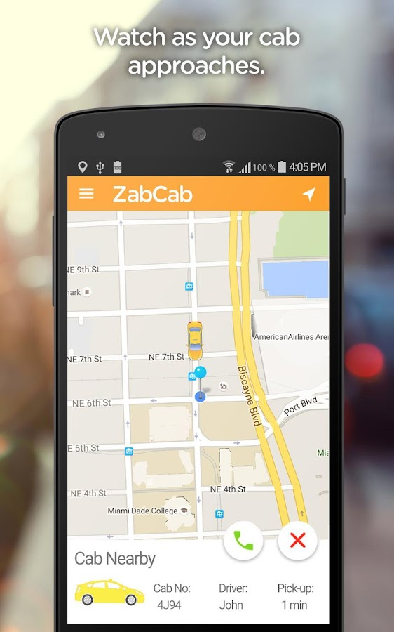 ZabCab - A Better Way to Taxi- screenshot