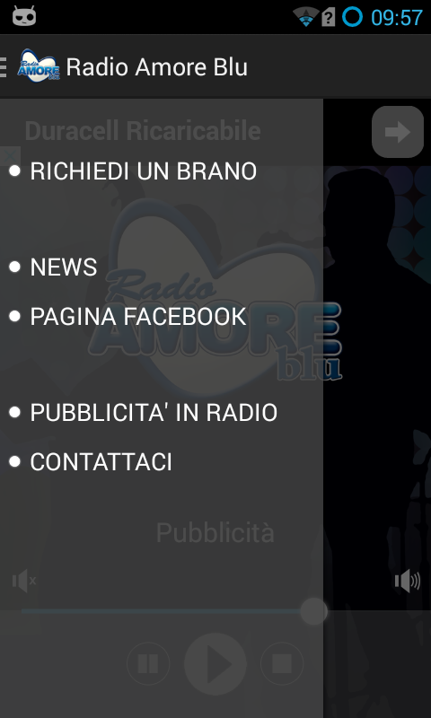 Radio Amore Blu- screenshot