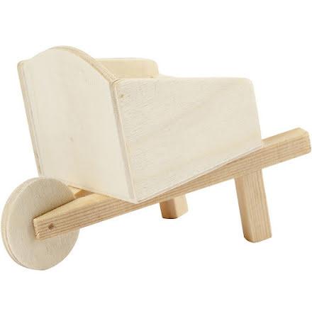 Skottkärra i playwood - 11 cm x 6,2 cm