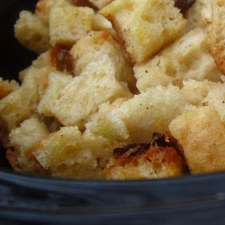 Bread Pudding in the Slow Cooker