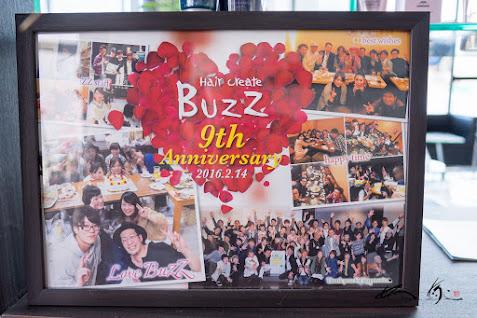 「BuZZ 9th Anuiversary」(2016年)にお客様からのプレゼント!