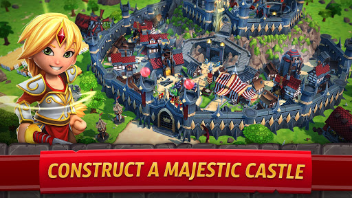 Royal Revolt 2: Tower Defense RTS & Castle Builder screenshots 4