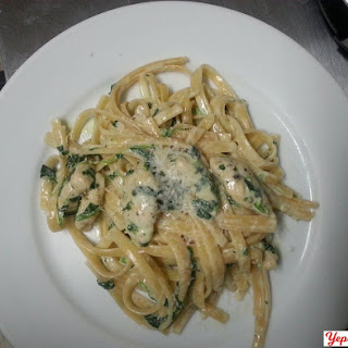 Easy Chicken and Spinach Fettuccine Alfredo new
