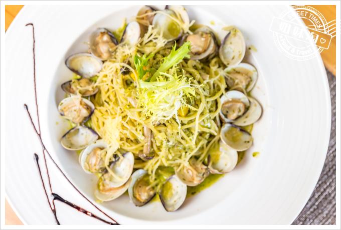 菲.Ra Ra義式餐酒館西西里亞青醬蛤蜊麵