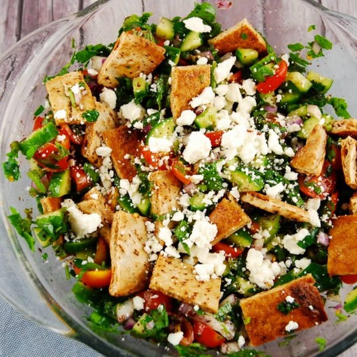 10 Best Arabic Salad Recipes