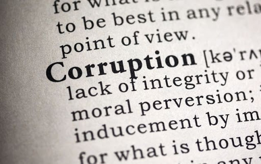 corruption a crime against humanity
