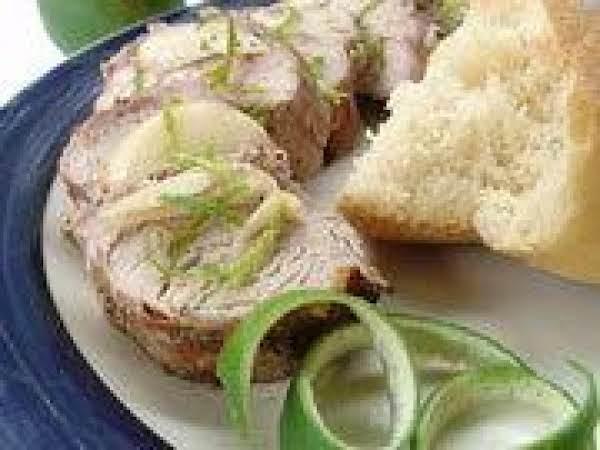 Grilled Garlic And Lime Pork Tenderloin Recipe