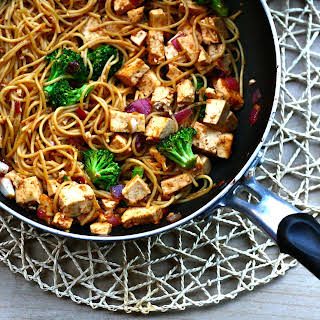 Peanut Satay Pasta Recipes.