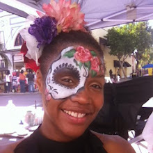 Photo: Sugar Skull face paint by Teressa Orange county.Call to booked Teressa for your next event: 888-750-7024