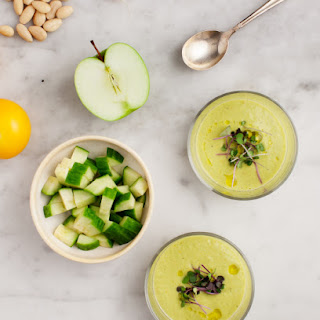 Cucumber Apple Green Gazpacho