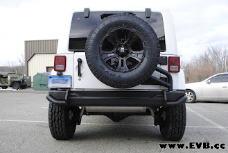 Photo: AEV Rear Bumper and Tire Carrier