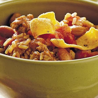 Slow-Cooker Turkey and Brown Rice Chili