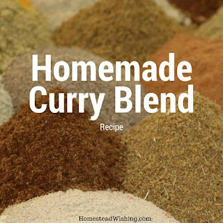 Homemade Curry Spice Mix.