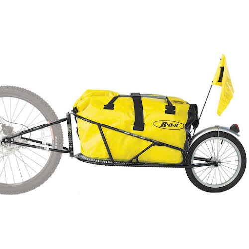 B.O.B Yak Plus 28 Trailer with DrySak, Black