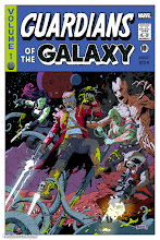 Photo: GUARDIANS OF THE GALAXY (VARIANT). 2016. Ink(ed by Joe Rivera) on bristol board with digital color, 11 × 17″.