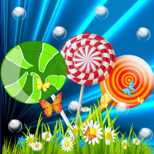 Candy Match 3 Lollipops Rush