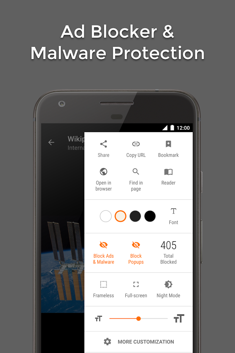 Hermit • Lite Apps Browser Screenshot 1