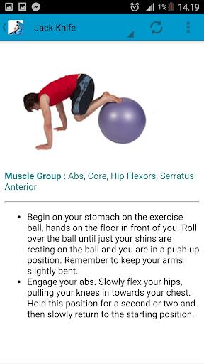玩免費運動APP|下載Do Ball Exercises app不用錢|硬是要APP