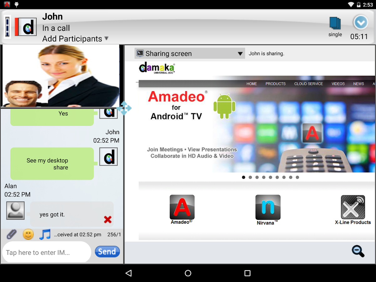 Amadeo-UCC- screenshot