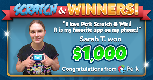 Perk Scratch & Win! screenshot 1