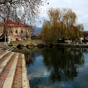 Zaustavi se i uzivaj by Mirjana  Bocina - City,  Street & Park  Vistas ( croatia solin reflection water,  )