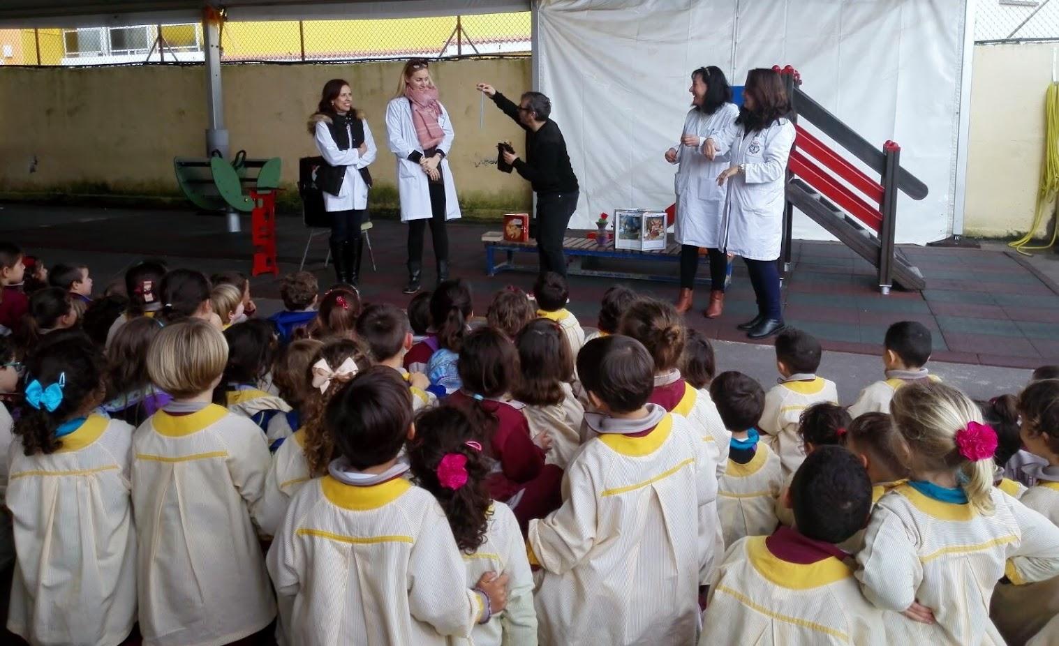 magia para educación infantil en Canarias