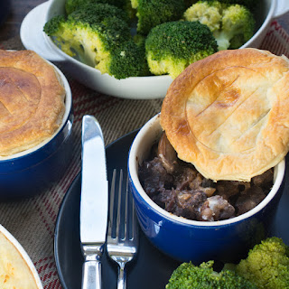 Easy Steak and Mushroom Pie.