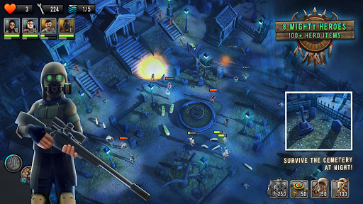 Last Hope TD - Zombie Tower Defense with Heroes 3.32 screenshots 9