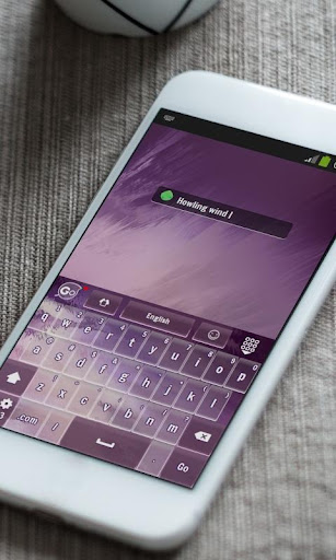 玩免費個人化APP|下載瑟瑟寒風 GO Keyboard app不用錢|硬是要APP