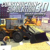 Construction Sim 3D Road works