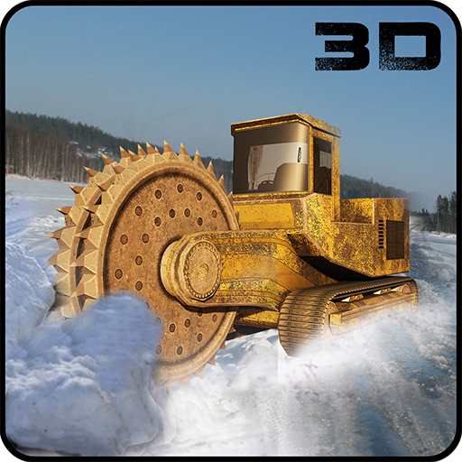 Snow Excavator Crane Operator
