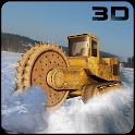 Snow Excavator Crane Operator icon