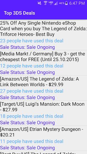 Top 3DS Deals