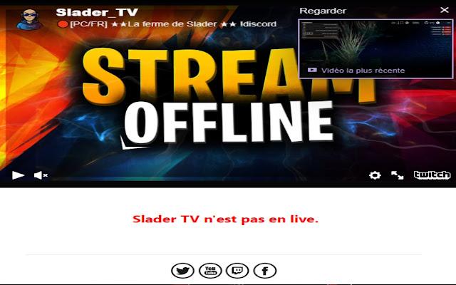 Slader TV Live