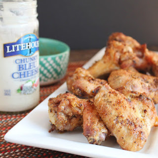 Crispy Baked Chicken Wings + a Giveaway!.