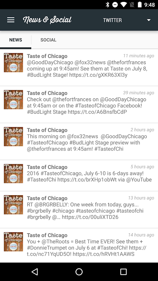 Taste of Chicago 2016- screenshot