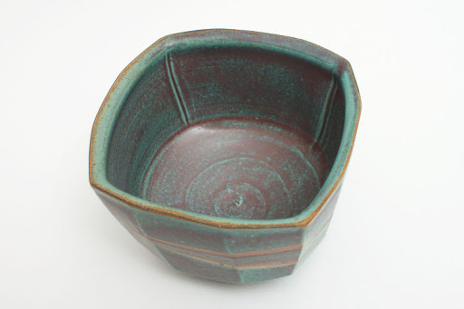 Jeff Oestreich Ceramic Footed Bowl 001
