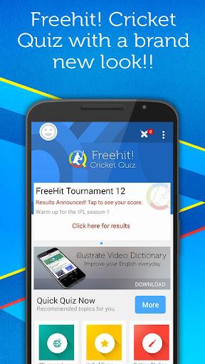 FreeHit Cricket Quiz