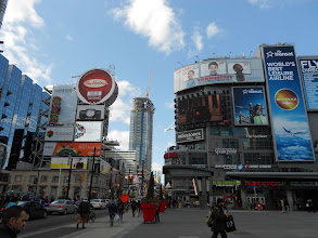 Photo: Toronto's Time Square