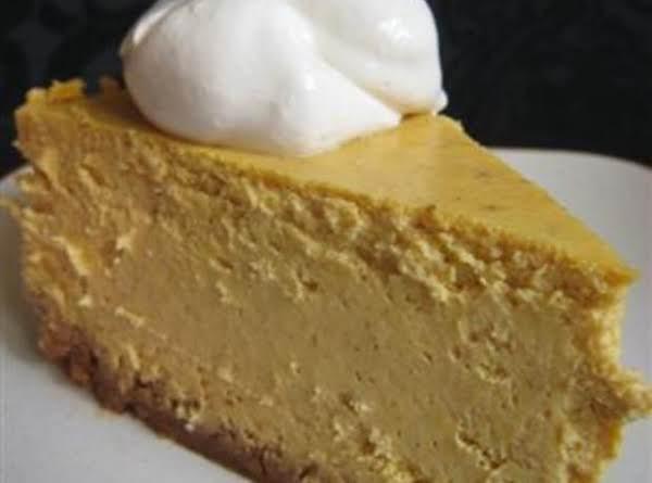 5 Minute Pumpkin Cheesecake