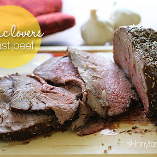 Garlic Lover's Roast Beef.