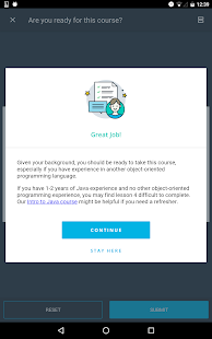 Udacity - Lifelong Learning Screenshot