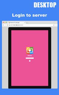 Remote File Manager - náhled