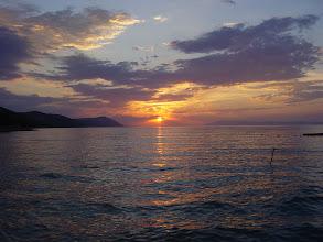 Photo: Zachód słońca nad Hvarem