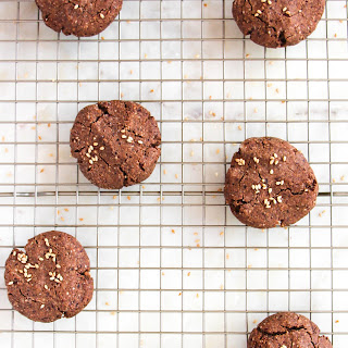 Paleo Chocolate Tahini Cookies Recipe