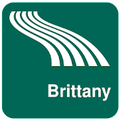 Brittany Map offline