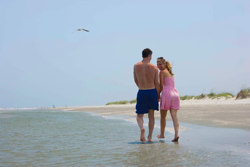 You haven't seen all of Charleston unless you take a stroll down one of its beautiful beaches.