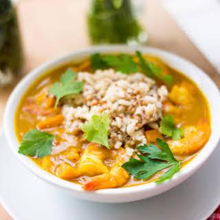 Pumpkin Shrimp Curry.