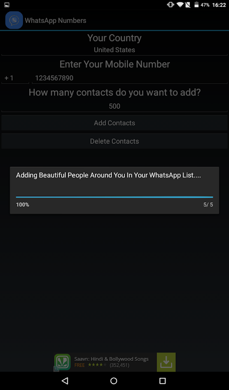 Download Real WhatsApp Contact Numbers APK 1 2 2 - Only in