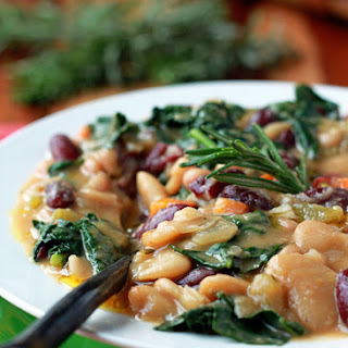 Vegetarian Tuscan Bean Stew Recipes.